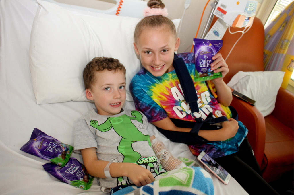 Easter Egg Donation to Campbelltown Hospital