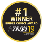 2019 Western Sydney Brides Choice Award - Winner