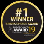 2019 Western Sydney Brides Choice Award - Winner