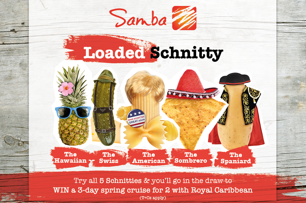 Loaded Schnitty Promotion